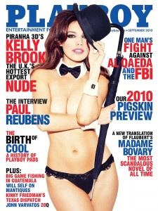 Kelly Brook - playboy cover - September 2010