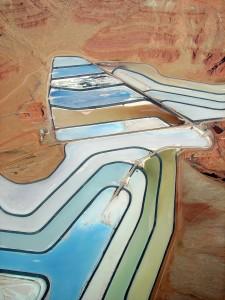evaporation pond - utah