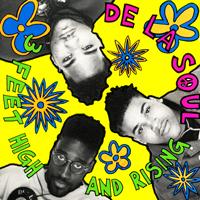 De La Soul - 3 Feet High and Rising album cover