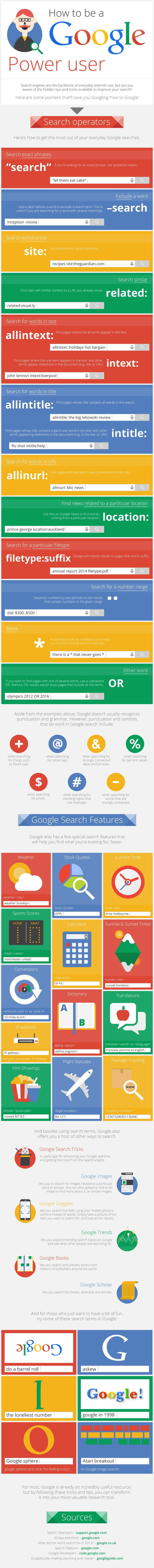 How-to-Become-a-Google-Power-User-Infographic