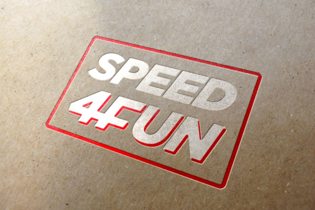 S4F logo - letterpress
